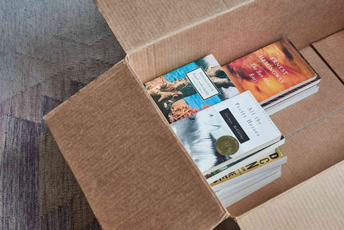 How To Pack Books