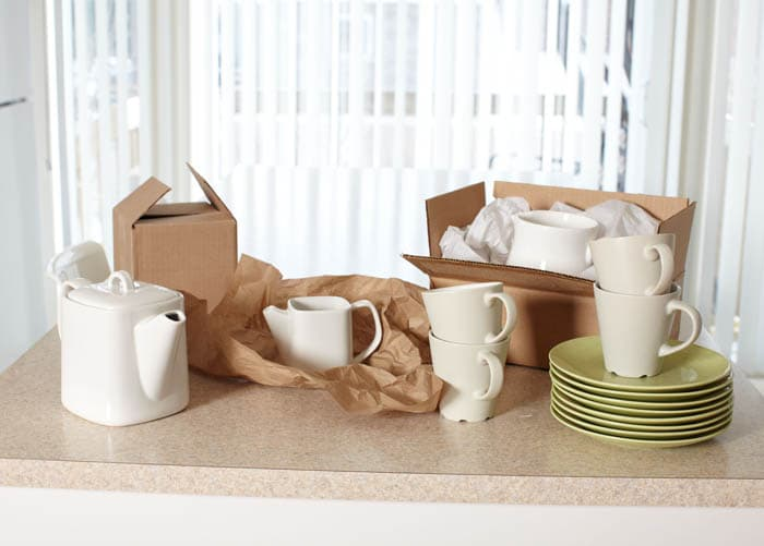 How To Pack Crockery?