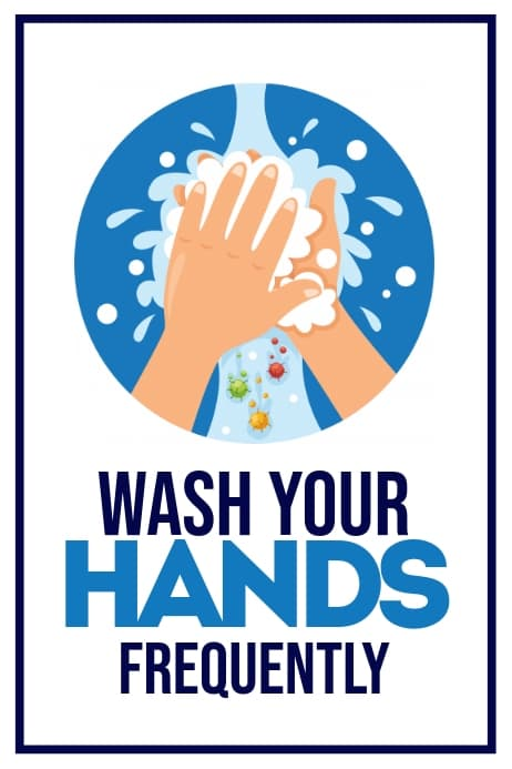 Wash Your Hands At Regular Intervals